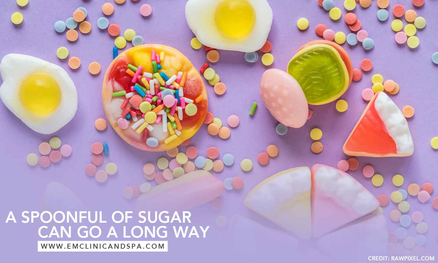 spoonful of sugar can go a long way