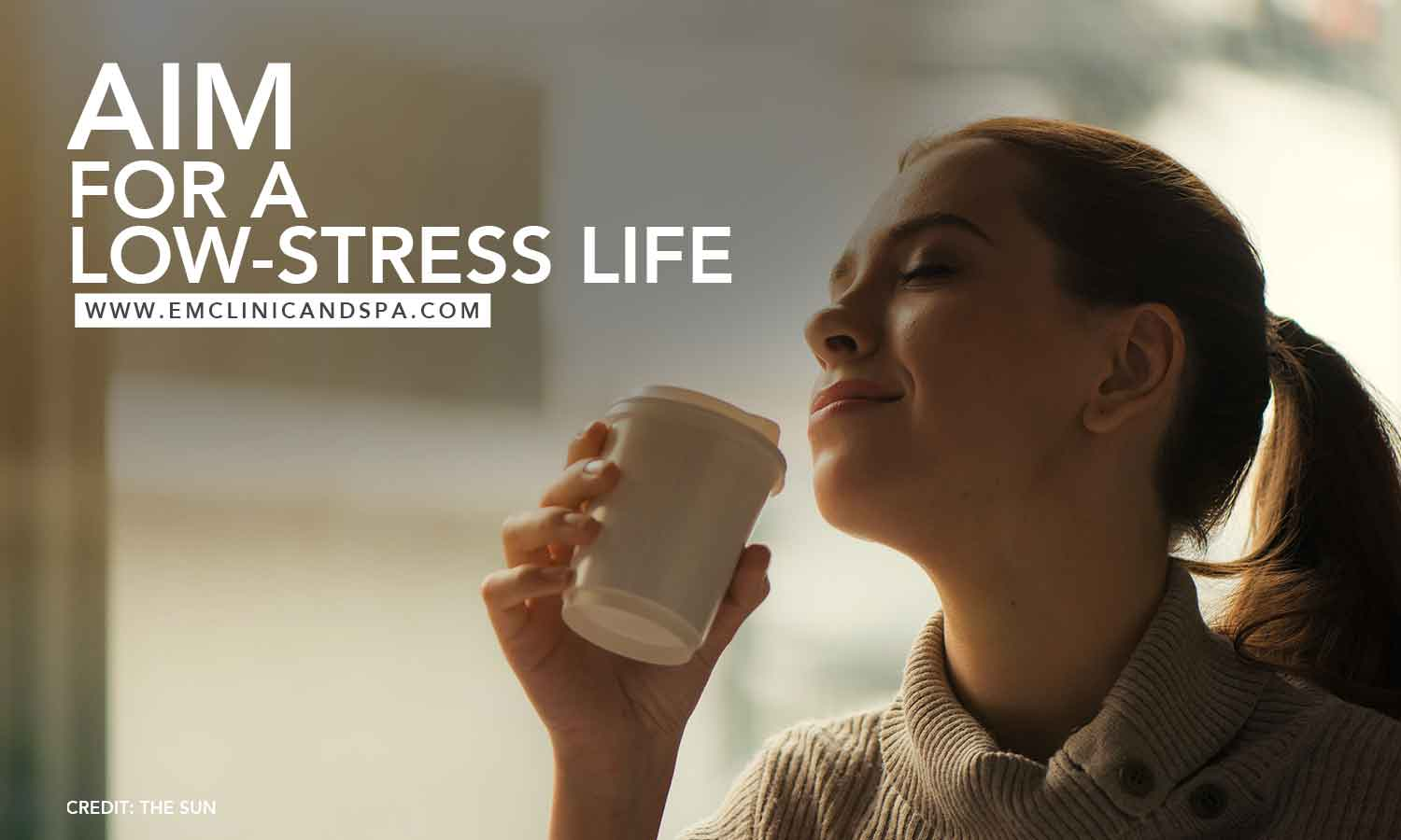Aim for a low-stress life