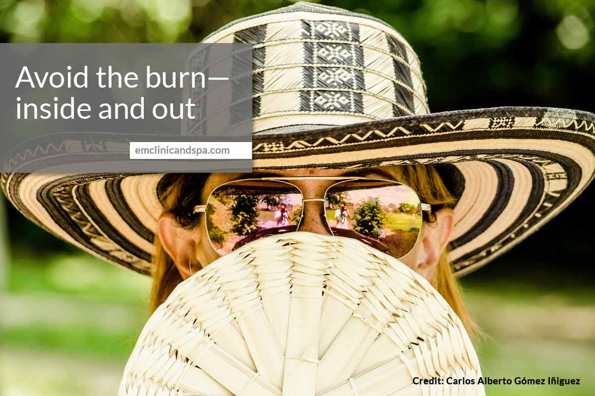 Avoid the burn—inside and out
