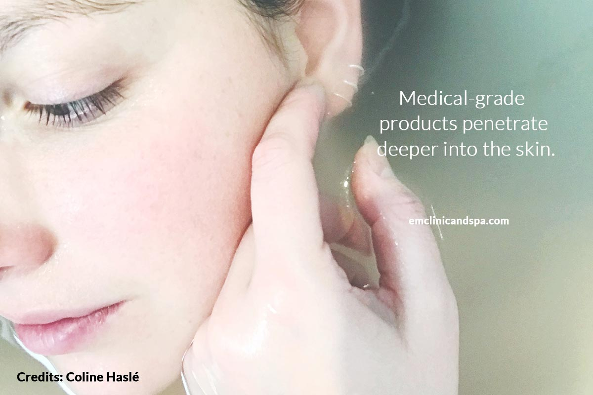 Medical-grade products penetrate
