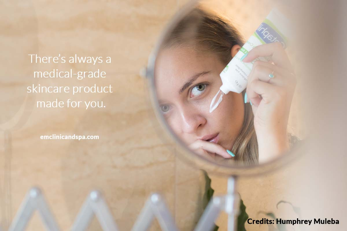 medical-grade skincare product made for you