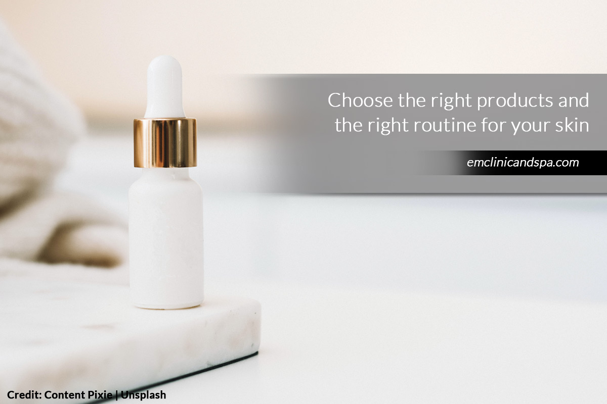 Choose the right products
