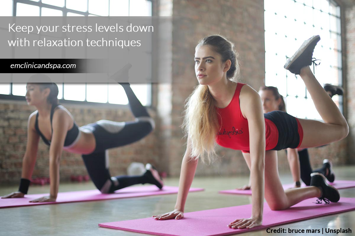 Keep your stress levels down